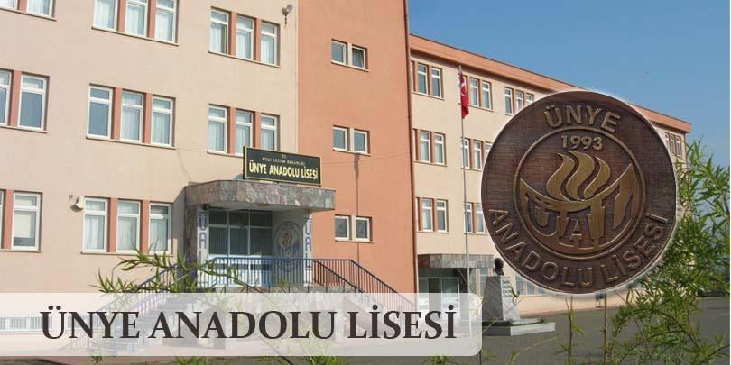 Ordu Ünye Anadolu Lisesi