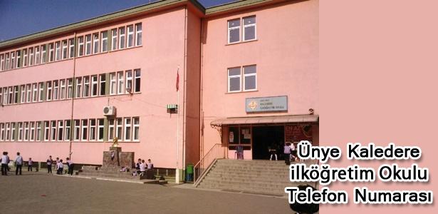 Ünye Kaledere İlköğretim Okulu