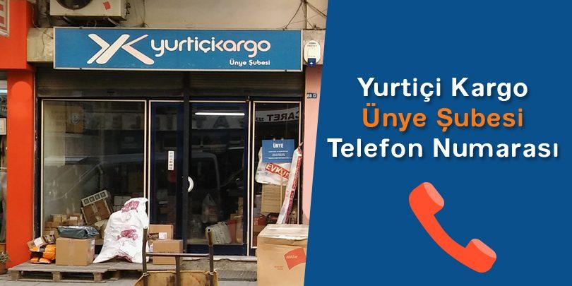 Ünye Yurtiçi Kargo Telefon Numarası