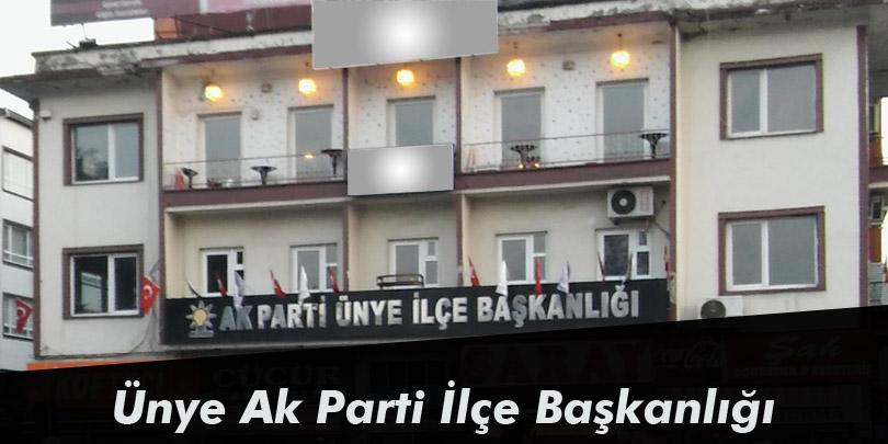Ünye AKP İlçe Başkanlığı