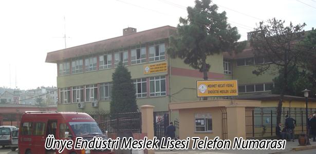 Ünye Teknik ve Endüstri Meslek Lisesi
