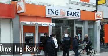 Ünye Ing Bank