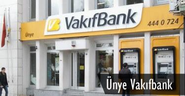 Ünye Vakıfbank