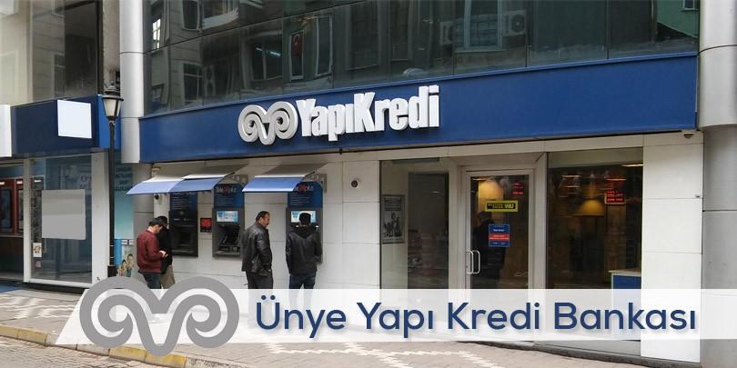 Ünye Yapı Kredi Bankası