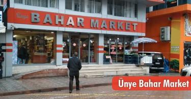 Ünye Bahar Market