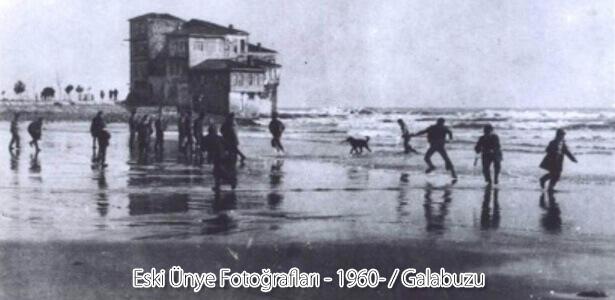 1960'lı yıllarda Galabuzu(Şuanda 100. Yıl Lokantasının bulunduğu yer) mevkiinde çekilmiş bir fotoğraf.