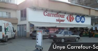 Ünye Carrefoursa Süper