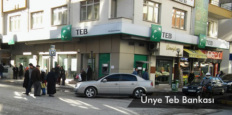 Ünye Teb Bankası