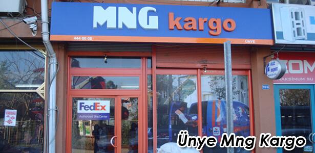 Ünye Mng Kargo