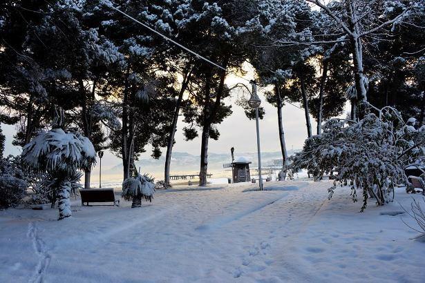 Ünye Kar Manzaraları