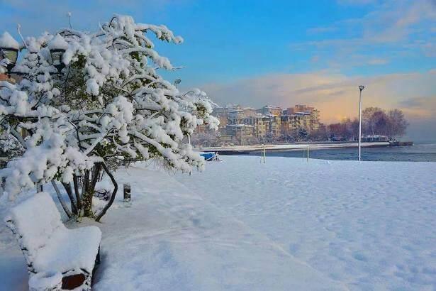 Ünye Kar Manzaları