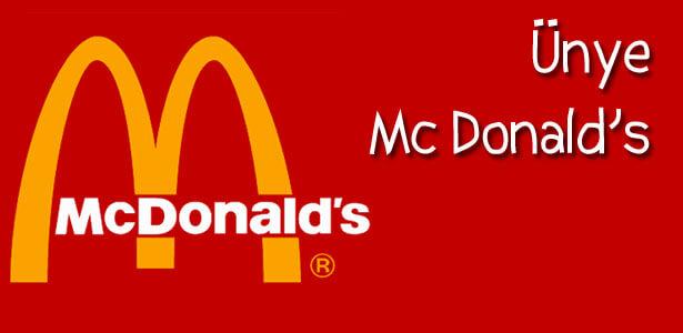 Ünye Mc Donald's