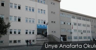 Ünye Anafarta Okulu