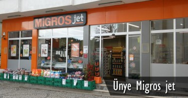 Ünye Migros Jet