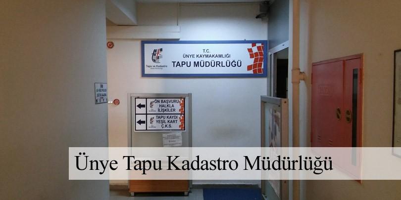 Ünye Tapu & Kadastro Müdürlüğü