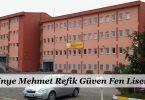 Ünye Mehmet Refik Güven Fen Lisesi