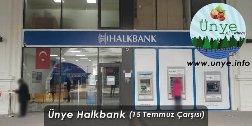Ünye Halk Bankası 15 Temmuz Meydanı Şubesi